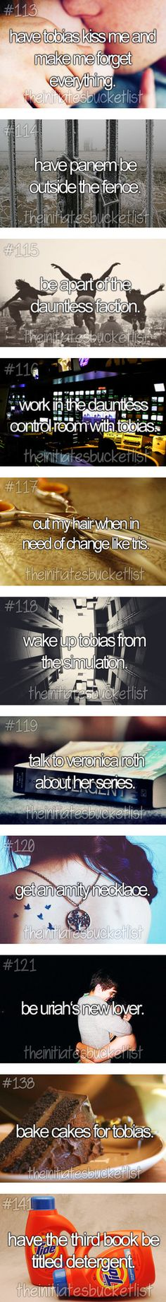 """The Divergent Bucket List Part 2"" by thehungergamesclique ❤ liked on Polyvore"