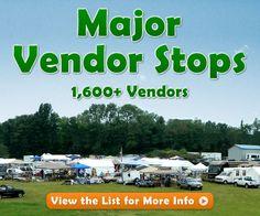 Major Vendor Stops - 127 Yard Sale -The World's Longest Yard Sale