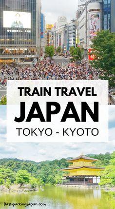 tokyo to kyoto bullet train shinkansen, cost, time. japan go… Japan train travel. tokyo to kyoto bullet Tokyo To Kyoto, Tokyo Japan Travel, Japan Travel Tips, Asia Travel, Japan Japan, Kyoto Japan, Okinawa Japan, Travel Kids, Japan Post