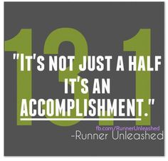 13.1- Half Marathon #8 coming up this Sunday! Thankful for how far I've come!