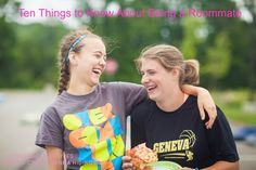 Ten Things to Know About Being a Roommate   College Lifestyles