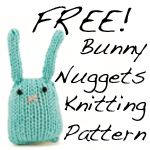 Rebecca Danger.  Great name, excellent monster patterns, and adorable bunny nugget FREE PATTERN!