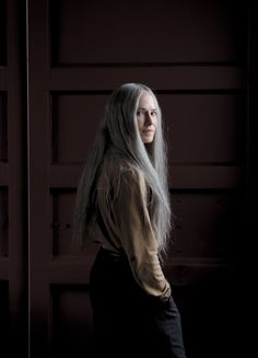 """Holly Hunter's """"GJ"""" from the TV series """"Top Of The Lake"""" with the motto: """"Follow your body. It will know what to do"""". Pure Zen + Tori Amos :)"""