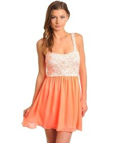 A lovely lace sweetheart strappy dress for night out