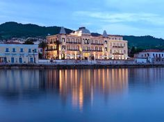 10 best boutique hotels in the world, Poseidonion Grand Hotel, Spetses, Greece. Hotels And Resorts, Best Hotels, Luxury Hotels, Luxury Suites, Couple Goals, Attica Greece, Couple Travel, Grande Hotel, Road Trip