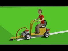 #Sports ground for children   Construction Equipment - Tractors, Excavators, Trucks   Bajki Koparki - YouTube