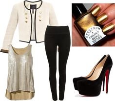 """""""City Glam"""" by michelle-barrientos on Polyvore"""