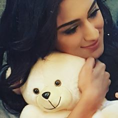 erica fernandes -  For me the solution to everything is a much needed hug .. #cuddlybear #boo-boo