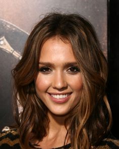 Ombre Highlights For Dark Hair | post dedicated to Jessica Alba, who inexplicably is now following me ...