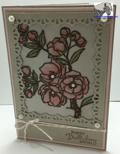 Stampin' Up! Indescribable Gift www.stampsnlingers.com
