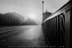 The beautiful foggy day over Bakke bru Trondheim by Aziz Nasuti Clover App, Trondheim, World's Biggest, Cool Pictures, Photo Galleries, Travel Photography, Black And White, Day, Beautiful