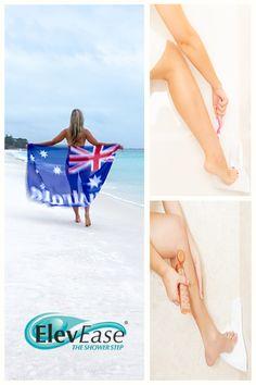 ElevEase Shower Step - White Corner Bathroom Step - Ideal for Shaving, Tanning & More, Easily Mountable Shower Step, Feet Care, Story Inspiration, Skin Care Tips, Shaving, Buy Now, Bikinis, Swimwear, Moisturizer