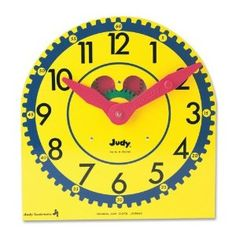 Teach you preschooler to tell time: games, activities, books and tools.