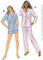 Misses Pyjamas Kwik Sew Sewing Pattern No. 2811 (##SEARCHPatterns)