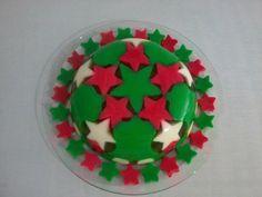Verde y roja para Navidad  #dulces #gelatinas #sweet #jelly