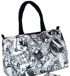 Brand New Nightmare Before Christmas Handbag Purse Bag Jack Skellington