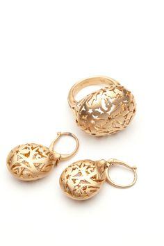 Pomellato's Arabesque Ring and Earrings