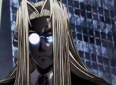 Because Integra Hellsing....That's why