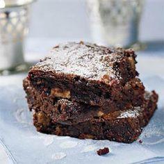 Chunky Chocolate Brownies @keyingredient #brownies #chocolate