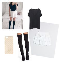 """""""COPY MY OUTFIT"""" by hedddis-xx on Polyvore featuring Zara, Nly Shoes and By Malene Birger"""
