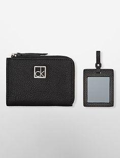 hailey mini wallet gift set | Calvin Klein