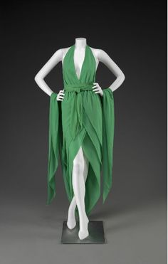 Dress, Halston, 1970s, The Indianapolis Museum of Art