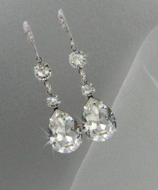 Earrings for Brides: Diamonds, Gold, Silver,  More Styles