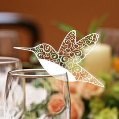 Snowflake Wedding Party Decoration Laser Cut Place Cards decoration cards