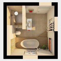Grundriss 3D Badezimmer Planung 1024x698