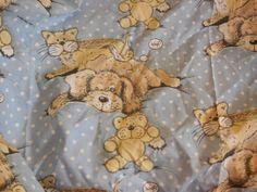 Sue Hall 1987  PuppyKitten Teddy Bear Twin by Daysgonebytreasures, $24.00