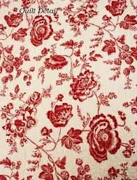 Image result for red and white toile wallpaper