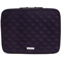 d8b8b2ef5d33 Vera Bradley Laptop Sleeve in Classic Navy ( 48) ❤ liked on Polyvore  featuring accessories