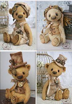 Steampunk bears ☺️