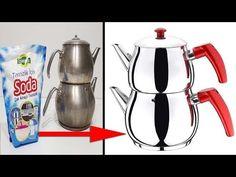 Evinize Gelen Herkes Bu İşin Sırrını Sizden Öğrenmek İsteyecek, Kararan Çaydanlık Parlatma Yöntemi - YouTube Make It Yourself, Youtube, Desserts, Coming Home, Room Darkening, Tea Pots, Getting To Know, Breien, Kids