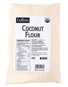 Product page for Nutiva Organic Coconut Manna Clean Recipes, Organic Recipes, Raw Food Recipes, No Bake Desserts, Vegan Desserts, Coconut Flour Nutrition Facts, Coconut Manna, Hemp Protein, Organic Superfoods