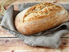 H συνταγή του μπαμπά Αντώνη: Χωριάτικο και αφράτο ψωμί
