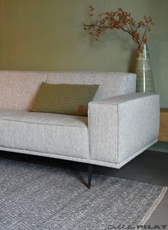 Corner sofa Jurre in fabric or leather - Woonwinkel Alle Pilat Corner sofa Jurre in fabric or in leather - Woonwinkel Alle Pilat . Living Room Sofa Design, Home Room Design, Living Room With Fireplace, Living Room Decor, L Shaped Sofa Bed, Beautiful Room Designs, Corner Sofa, House Rooms, Room Inspiration