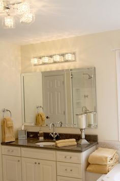 Tan Tile With Grey Walls For The Home Pinterest Walls Bathroom Inspiration And Powder Room