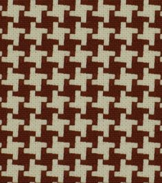 Upholstery Fabric-Robert Allen Square Pegs Cherry