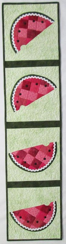 Patchwork Watermelon Table Runner Kit