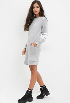 Robe-Pull à Rayures - Robes - 2000179677 - Forever 21 EU Français