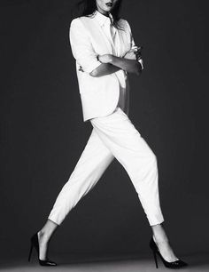Elena Melnik by Andrew Yee for S Moda 2013.