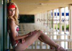 Pepita Beachwear Spring Summer 2014. Fifties Style - Pepita Summer Diva - Ironica e maliziosa /Ironic and mischievous