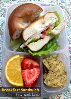 EASY Work lunches that you'll love! packed with @EasyLunchboxes