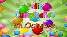 Feliz Cumpleaños en Octubre