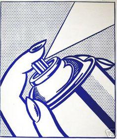 Spray Can -  Lichtenstein