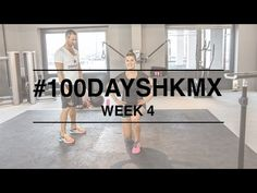 Week 4 #100daysHKMX challenge. Weekly workout video's with Manon and Guy to get fit and in shape. Manon tells you all about her healthy lifestyle on MonStyle!