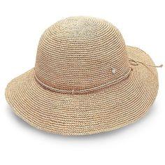 Helen Kaminski Provence 12 Raffia Sun Hat ($215) ❤ liked on Polyvore