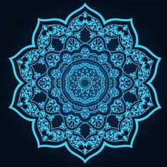 traditionele Perzisch-Arabisch-Turks-Islamitische patroon photo