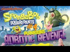 Spongebob Squarepants Game Full Episodes 4 - Plankton's Robotic Revenge ...